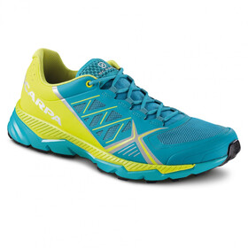 Scarpa Spin RS Schoenen Heren, blue bay/spring green